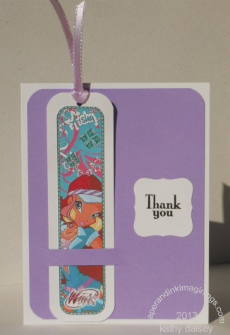 winx bookmark card