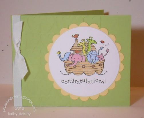 Ark Baby Card