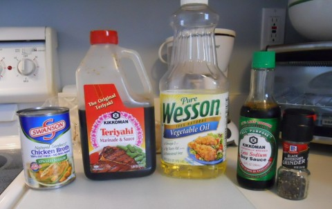 stirfry condiments