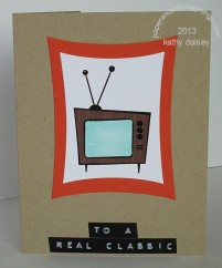 Retro TV Birthday