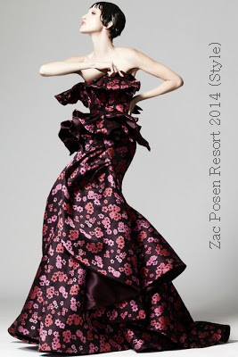 Zac Posen Resort 2014 (from style)