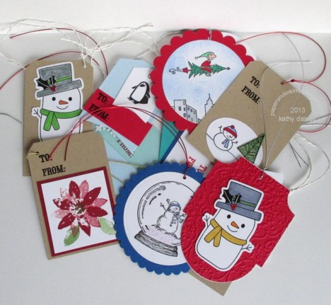 batch of scrap tags 2013