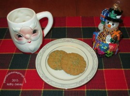 peanut butter cookies 2013