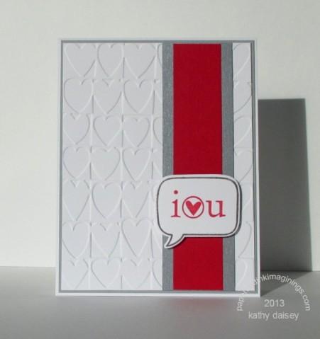 ppa185 love you card