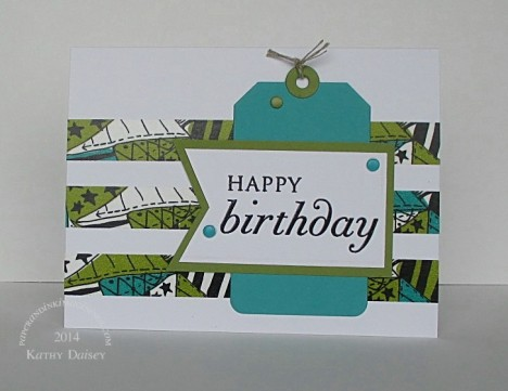 bermuda olive washi birthday
