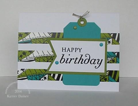bermuda olive washi birthday