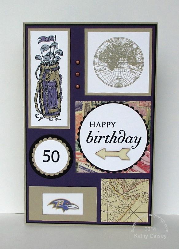 50 Birthday Ravens Golf
