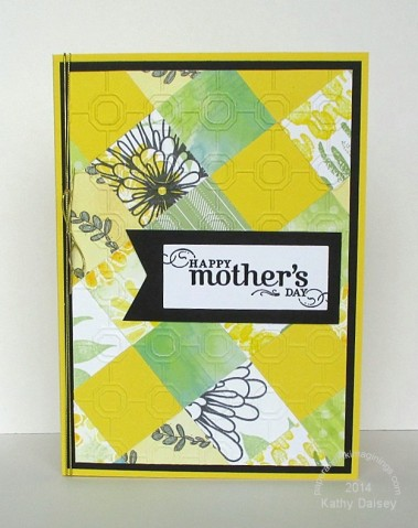 yellow patchwork mothers day