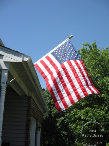 2014 memorial day flag
