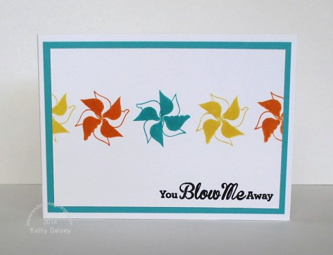 blow me away note card