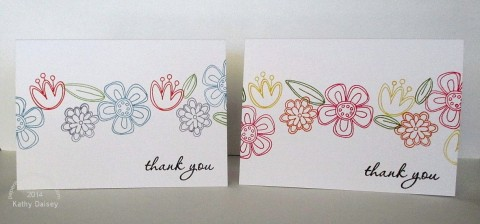 floral thank you duo