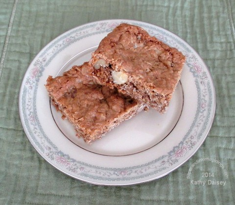 oatmeal walnut cookie bars