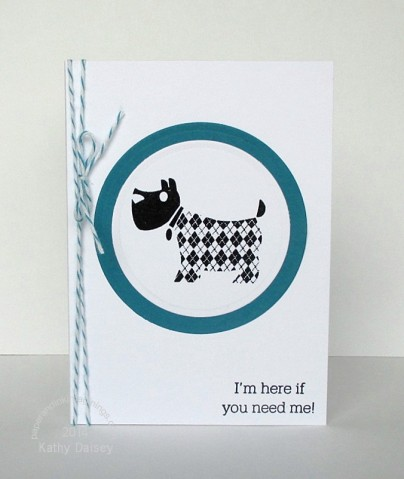 argyle scottie dog