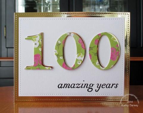 golden 100 bday