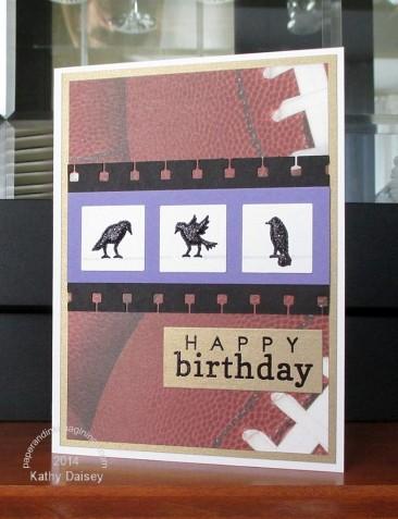 sparkly ravens birthday