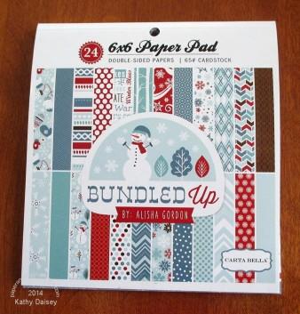carta bella bundled up pad