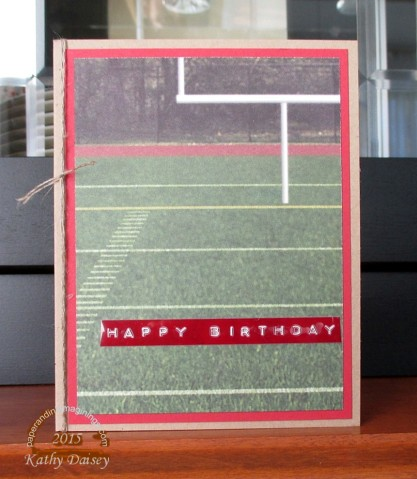 football goal post birthday