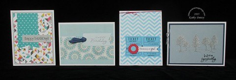 2nd blogiversary A2 cards