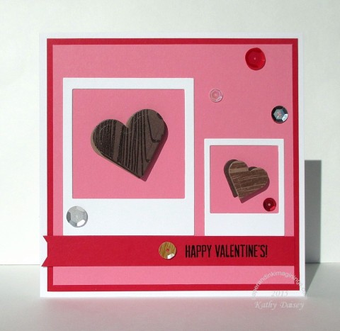 fusion two hearts valentine chocolates