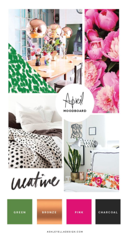 april 2015 mood board Ellen Hutson pin it challenge