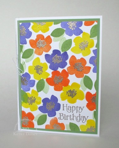 orange yellow wasabi birthday bold blooms