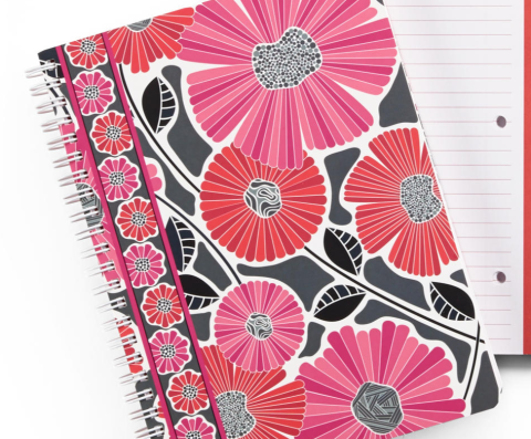 vb cheery blossoms notebook