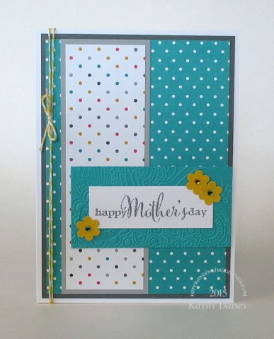 dotty mothers day card