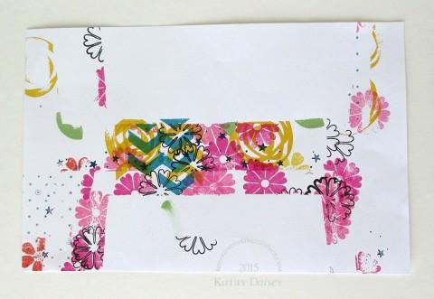 envelope scrap paper