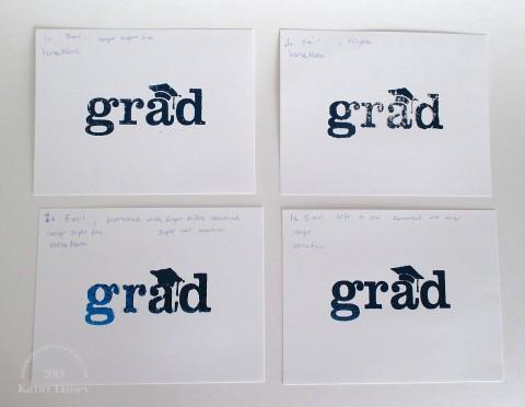 foiled grad