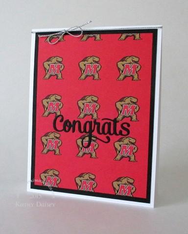 um graduation card
