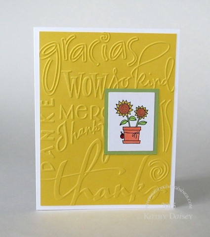daffodil embossed sunflower ty
