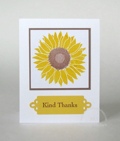 mft sunflower kind thanks