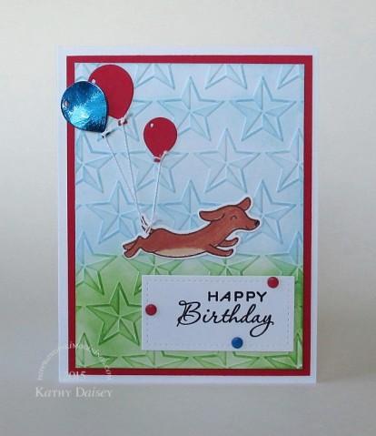 dachshund balloon birthday