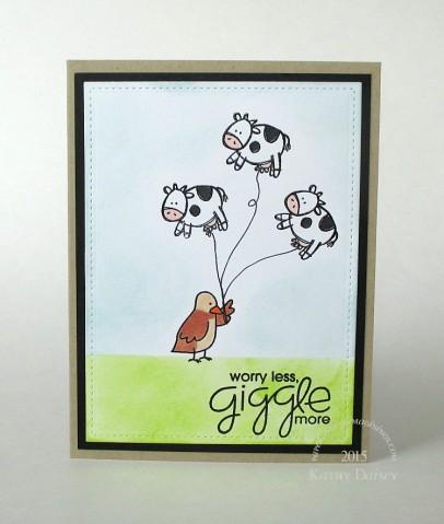 cow balloons giggle