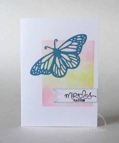 miracles happen butterfly