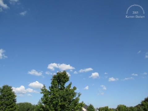 sept 8 2015 sunshine blue sky