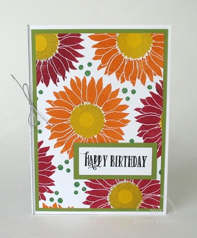 fall gerbera birthday