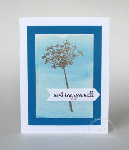 watercolored wishing you well