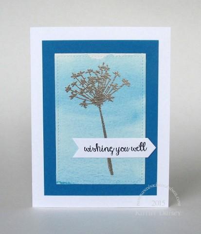 watercolored wishing you well
