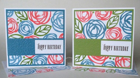 bold blooms birthday duo
