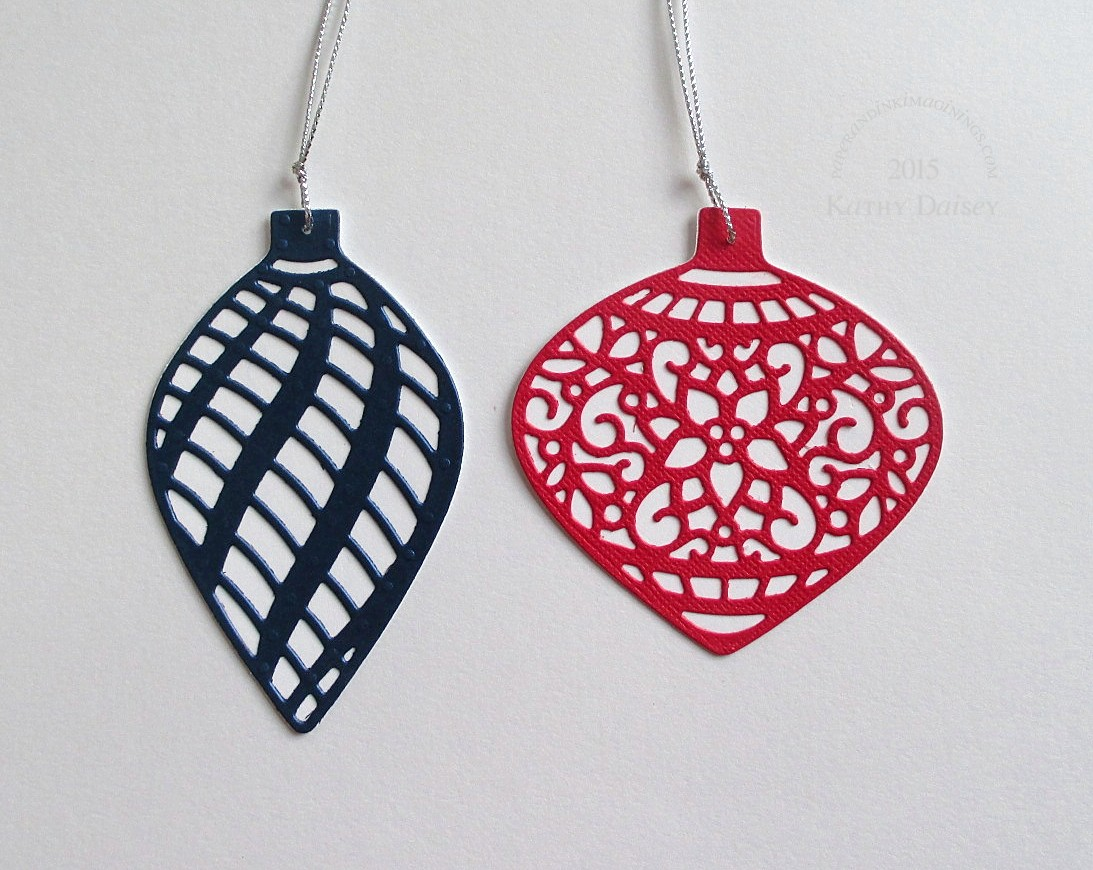 Die Cut Ornament Tags | Paper and Ink Imaginings