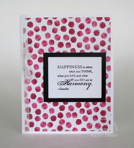 abstract dotted ghandi happiness