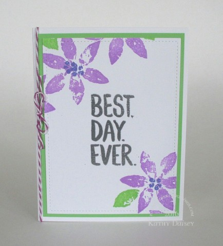 best day ever bright flowers