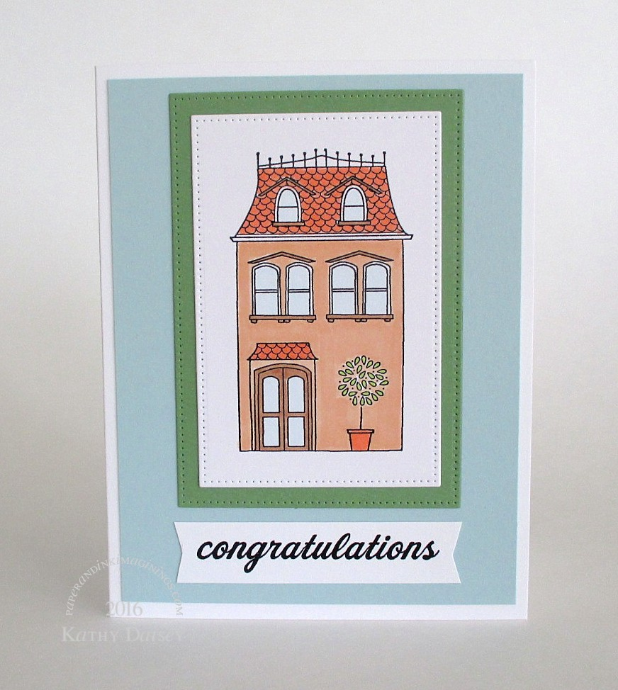 Congratulations On New Home Card Paper And Ink Imaginings