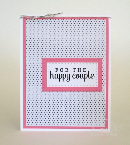 SSS dotted crate paper happy couple