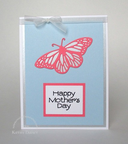 blue coral butterfly mothers day
