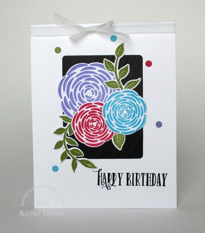 bold youre so lovely bday card