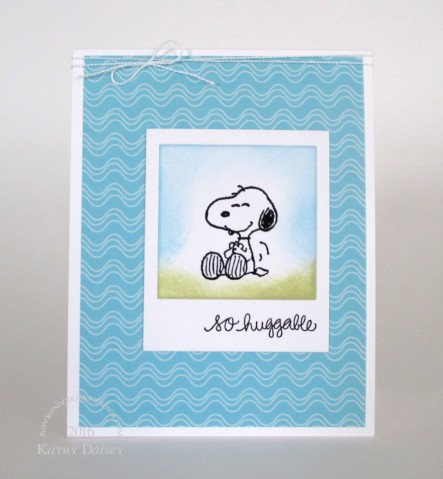 so huggable snoopy