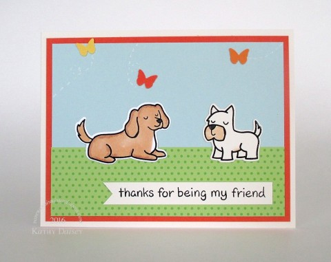 thanks for being my friend lf dogs