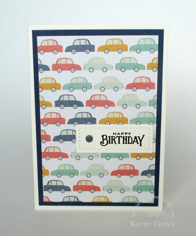 mme car paper birthday